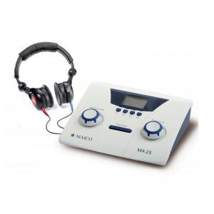 אודיו מיטר נייד לביצוע בדיקות שמעיה בבית