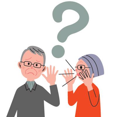 מדברים למבוגר שסובל מירידת שמיעה וצריך מכשירי שמיעה